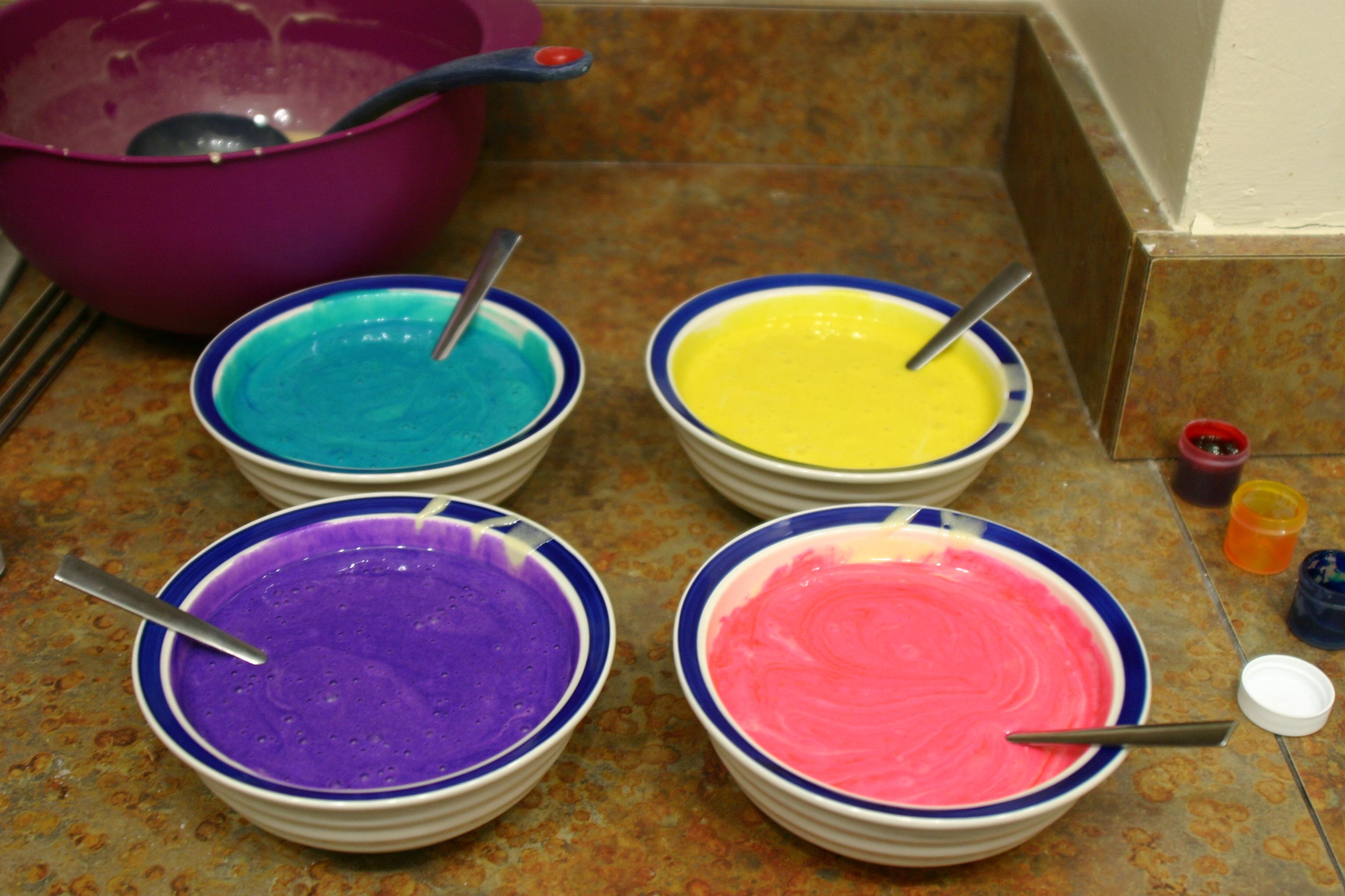 Neon Tie-Dye Cupcakes! | Pie With Sparkles