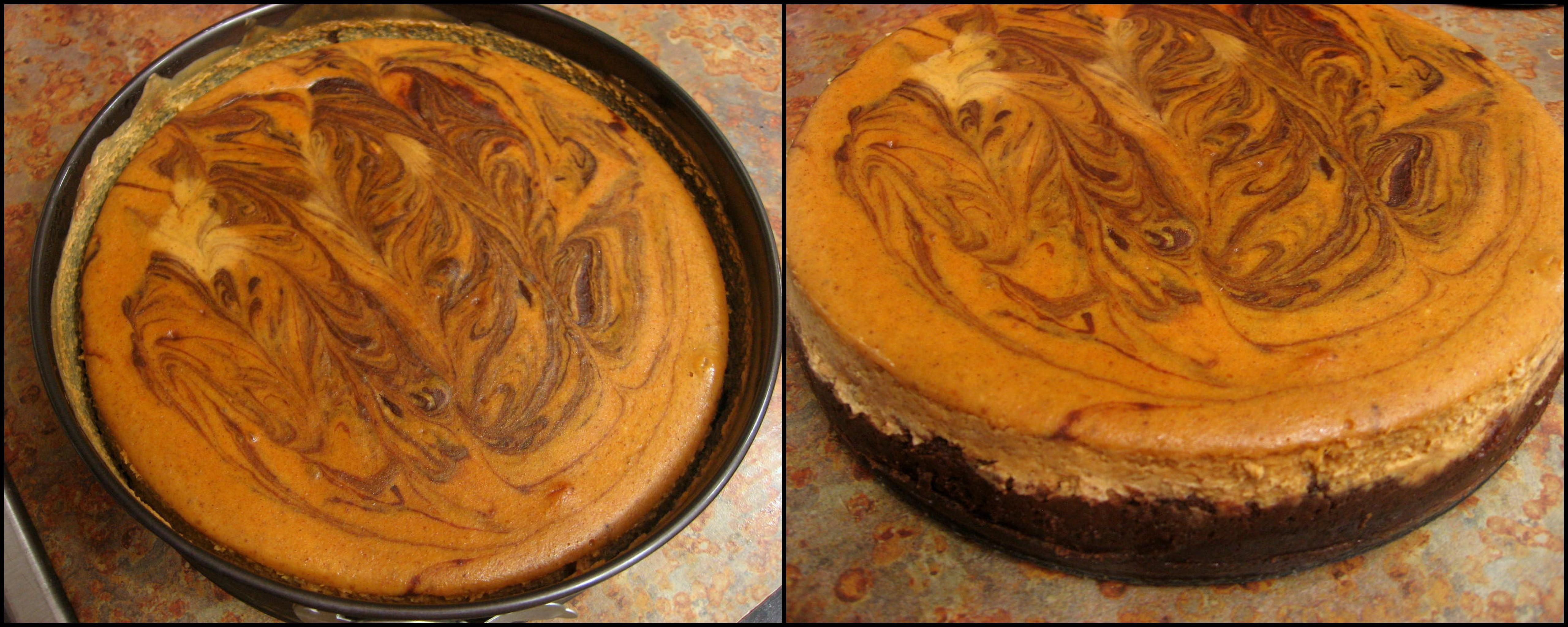 Chocolate Pumpkin Cheesecake Recipes — Dishmaps