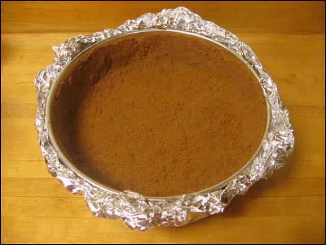 Gingersnap crust
