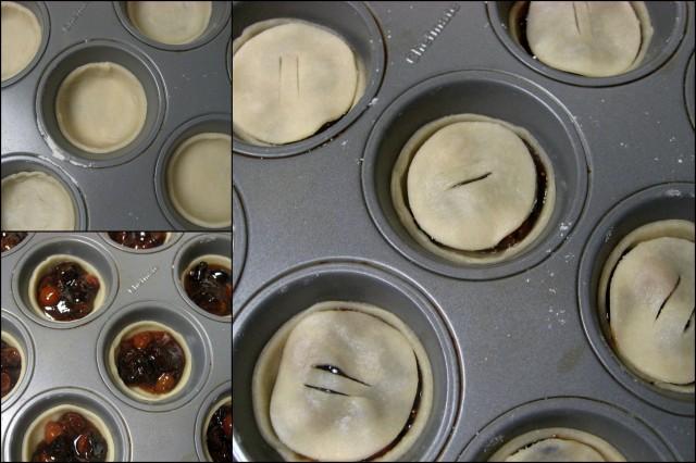 Assemble tarts
