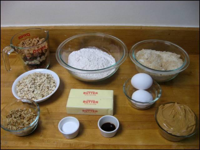 Monster five-chip cookies ingredients