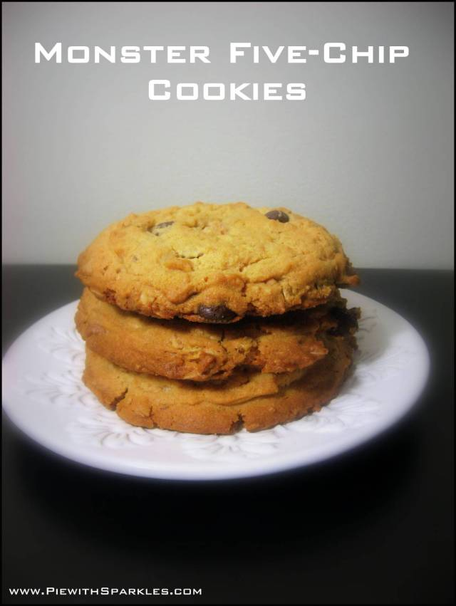 Monster Five-Chip Cookies
