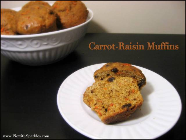 Carrot-Raisin Muffins